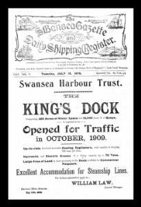 The Swansea gazette and daily shipping register