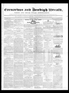Carnarvon and Denbigh herald, and North and South Wales independent