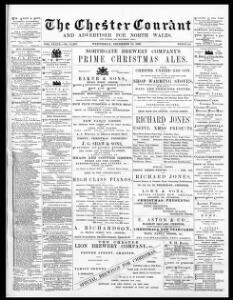The Chester courant and advertiser for North Wales