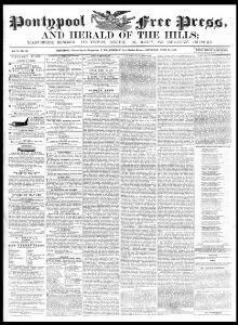 Pontypool free press and herald of the hills