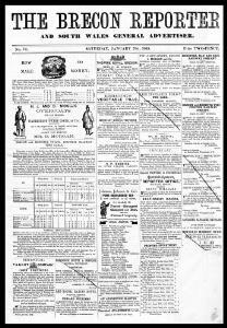 The Brecon reporter, and South Wales general advertiser