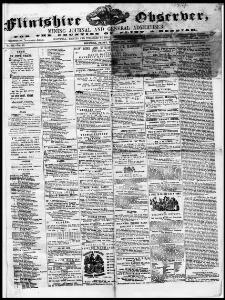 Flintshire observer, mining journal and general advertiser, for the counties of Flint & Denbigh