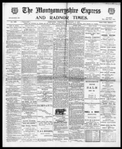 The Montgomeryshire express and Radnor times