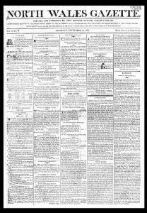 North Wales gazette