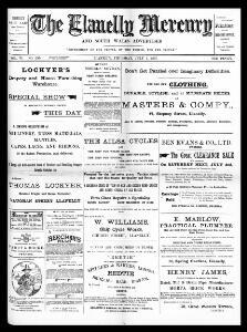 The Llanelly mercury and South Wales advertiser