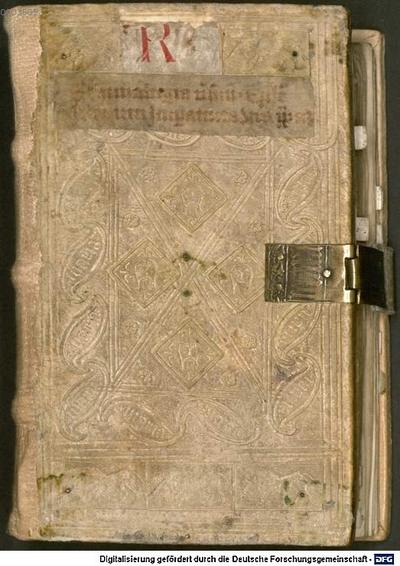 Sammelband (Isidorus Hispalensis, Bernardus Claraevallensis, Henricus IV. Imperator u.a.) - BSB Clm 14096