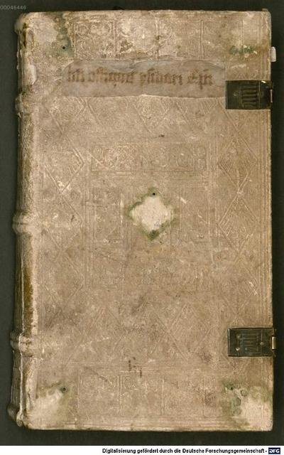 Isidori de officiis ecclesiasticis libri duo, cum paucis glossis germanicis - BSB Clm 14461. De signis nativitatis, paraphrasis opusculi Hrabani Mauri. Homiliae. Epistula de fide / Ps.-Gennadius Massilensis