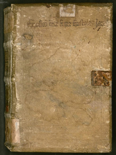 In Epistulas canonicas - BSB Clm 6284