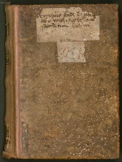 De tabernaculo - BSB Clm 6320