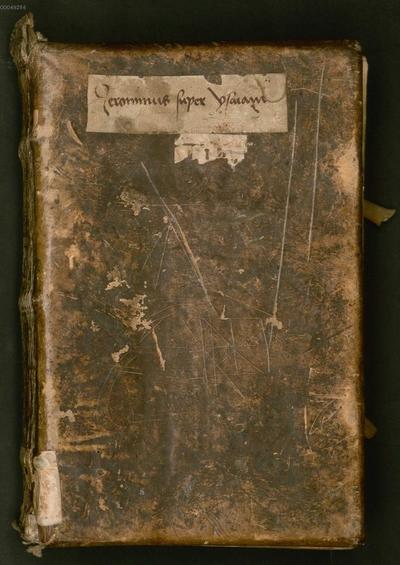 Abbreviatio commentarii S. Hieronymi super Isaiam - BSB Clm 6296