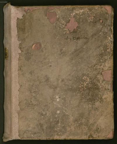 Boetii de topicis differentiis libri IIII. Eiusdem liber divisionis [u.a.] - BSB Clm 6372