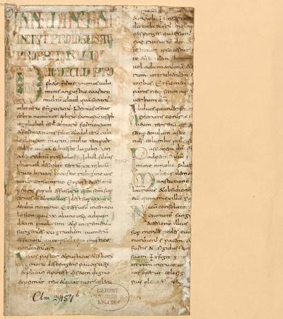 Biblia, AT. Libri prophetales - BSB Clm 29265(7