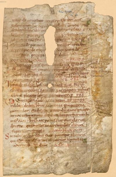 Sacramentarium Gregorianum - BSB Clm 29300(11