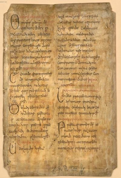 Sacramentarium Gelasianum - BSB Clm 29300(4