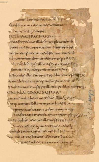 Sacramentarium Gelasianum - BSB Clm 29300(6