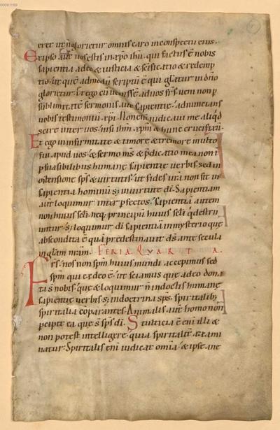 Lectionarium officii - BSB Clm 29318(2