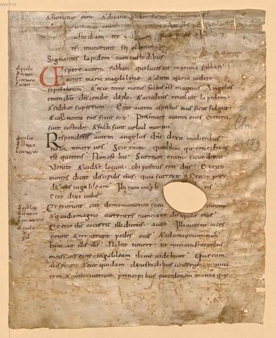 Biblia, Neues Testament, Evangelium - BSB Clm 29270(10