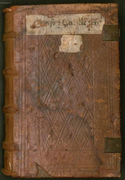 Homiliae in Ezechielem, liber II - BSB Clm 6237