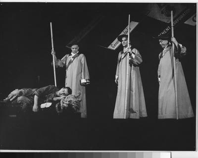 Dobrý člověk ze Sečuanu, 1960, Divadlo Oldřicha Stibora Olomouc 58-74