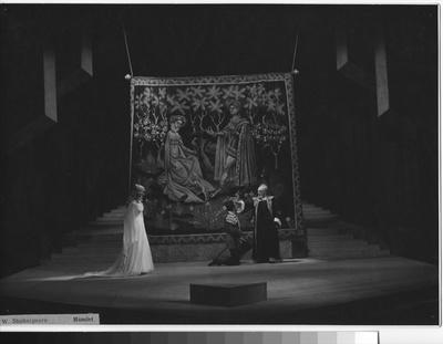 Hamlet, 1957, Krajské oblastní divadlo Olomouc 48-58