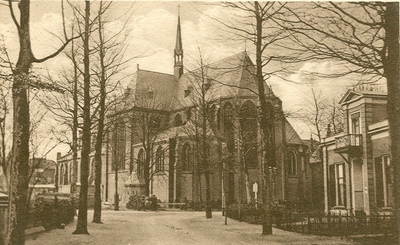 Mariakerk gezien vanuit het Sophiapark.
