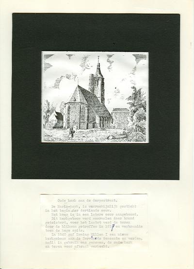 De Mariakerk destijds op het huidige oaadhuisplein.