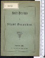 Häuser-Verzeichnis der Stadt Gmunden