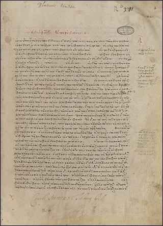 Platonis et Pseudo-Platonis opera nonnulla