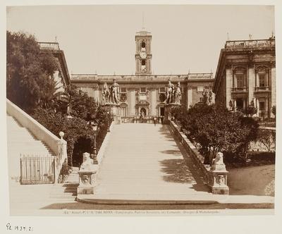 Kapitol, Senatorenpalast, Entwurf von Michelangelo, Rom