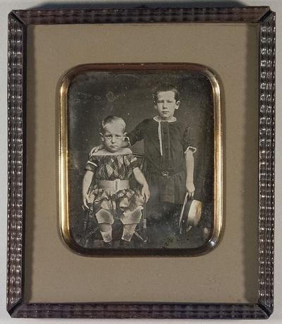 Die Brüder Emil und Otto Gaedechens (geb. 1848)
