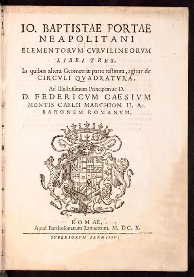 Elementorvm Cvrvilineorvm libri tres : in quibus altera Geometriae parte restituta, agitur de Circvli Qvadratvra