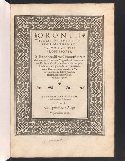 In sex prioris libros geometricorum elementorum Euclides Megarensis demonstrationis