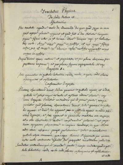 Tractatus physicus : de lucis natura, et proprietatibus