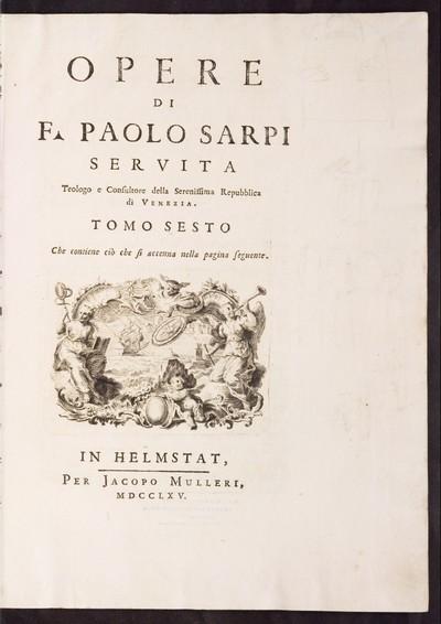 Opere; Bd. 6