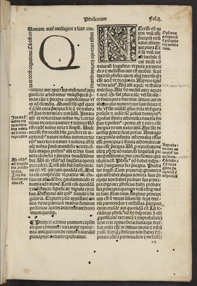 Jncipit textus abbreuiatus Aristotelis super octo libris Phisicorum : & tota naturali philosophia