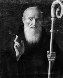 Zehn Heilige — Heiliger Benedikt