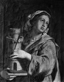 Zehn Heilige — Heilige Barbara