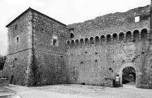 Castello di Spedaletto & Grancia dello Spedale di Santa Maria della Scala di Siena & Kastell —