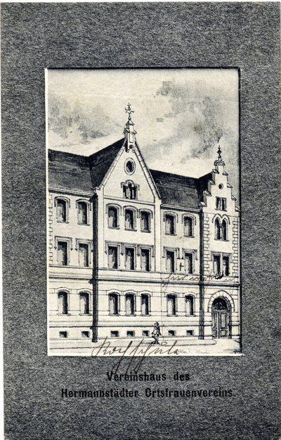 Vereinshaus des Hermannstadter Ortsfrauenvereins