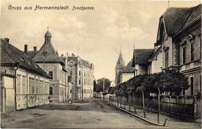 Gruss aus Hermannstadt. Josefgasse
