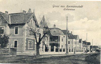 Gruss aus Hermannstadt. Hallerwiese