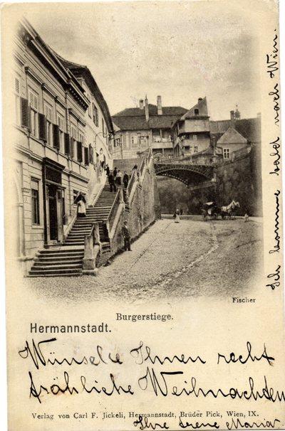 Hermannstadt - Burgerstiege