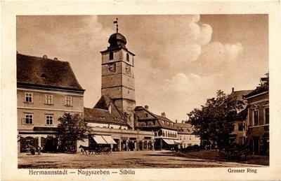 Hermannstadt - Nagyszeben - Sibiiu. Grosser Ring