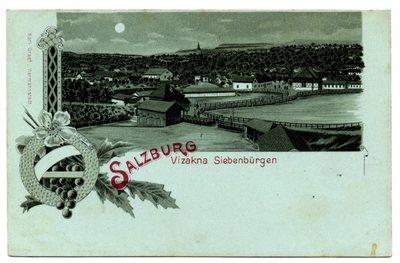 Salzburg - Vizakna Siebenburgen.[Sibiu - Ocna Sibiului]