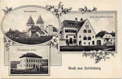 Gruss aus Schonberg. [Sibiu - Dealu Frumos]