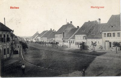 Heltau - Marktgasse. [Sibiu - Cisnadie]