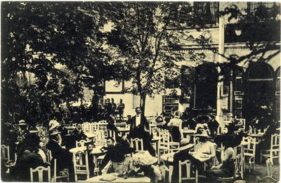 Hermannstadt - Nagyszeben - Sibiiu. Conditorei Erlenpark