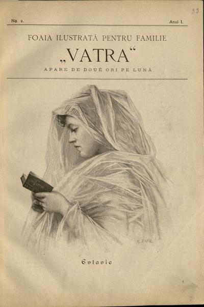 VATRA. Foaie ilustrată pentru familie.