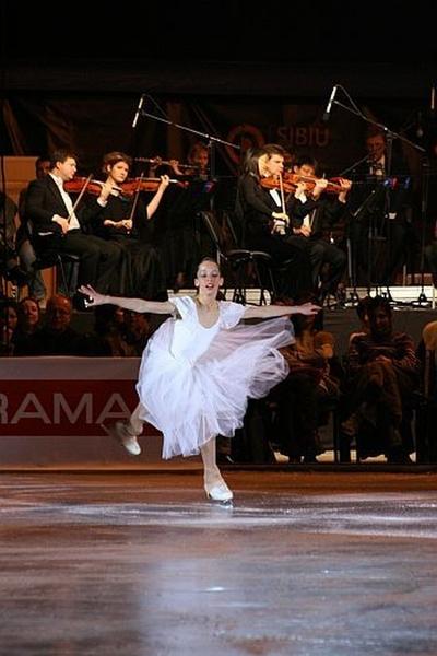 Spectacolul companiei Iceclub Merano'' feat. Johann Strauss Orchestra. Galele de Patinaj ''Magie pe Gheata''