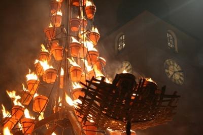 Spectacol ''Instalations de Feu/ Instalatii de Foc'' al companiei Carabosse